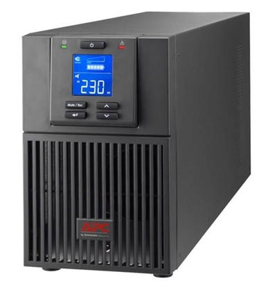 Изображение APC SRV1KI uninterruptible power supply (UPS) Double-conversion (Online) 1000 VA 800 W 3 AC outlet(s)