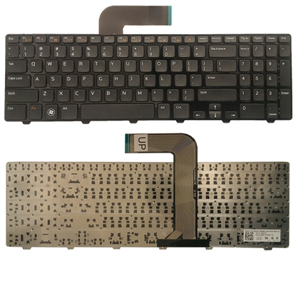 Изображение Klaviatūra NSK-DY0SW US Dell Inspiron R15 Melna (N5110/ M5110)