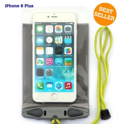 Attēls no AQUAPAC Waterproof Case For iPhone 6 Plus / Pelēka