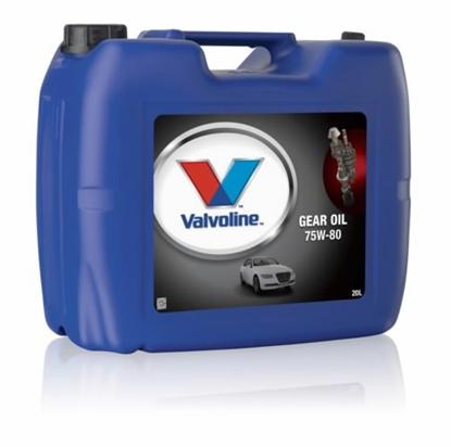 Изображение Transmisijas eļļa VALVOLINE GEAR OIL GL-4 75W80 20L, Valvoline