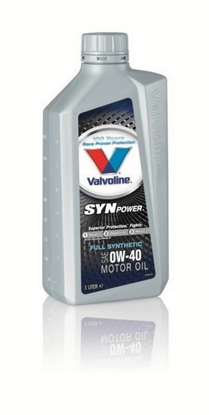 Attēls no Motoreļļa SynPower 0W40 1L, Valvoline