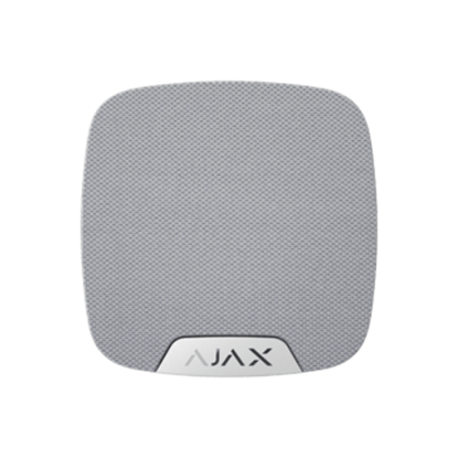 Изображение Ajax HomeSiren Wireless indoor siren (white)