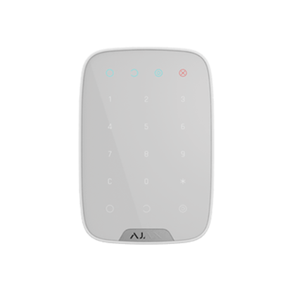 Изображение Ajax KeyPad Wireless touch keyboard (white)