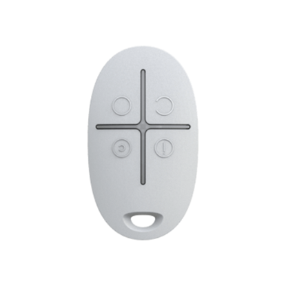 Изображение Ajax SpaceControl Key fob with a panic button (white)