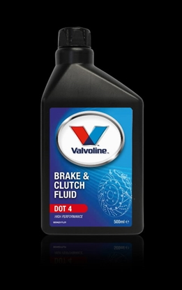 Изображение Bremžu un sajūga šķidrums Brake & Clutch Fluid DOT 4 500 ml, Valvoline
