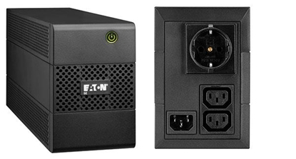 Attēls no Eaton 5E 650VA/360W line-interactive, 1 Schuko (DIN) + 2 IEC C13 (10A)