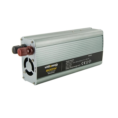 Attēls no Whitenergy Power Inverter DC/AC from 24V DC to 230V AC 800W, USB