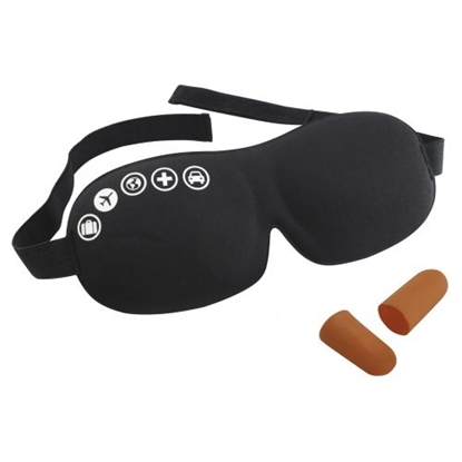 Attēls no TRAVELSAFE Acu maska un ausu aizbāžņi Foam Eyemask and Earplugs