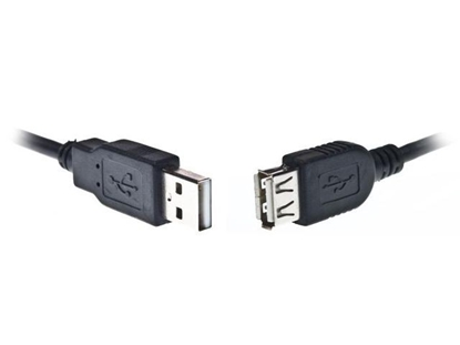 Picture of Kabelis Gembird USB Male - USB Female 1.8m Black