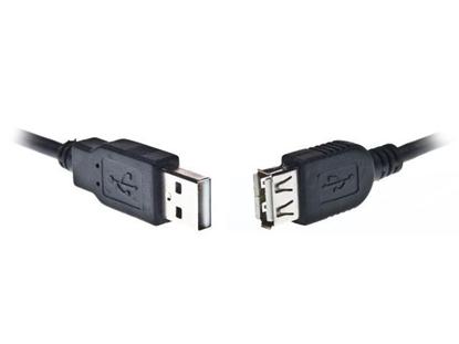Изображение Kabelis Gembird USB Male - USB Female 1.8m Black