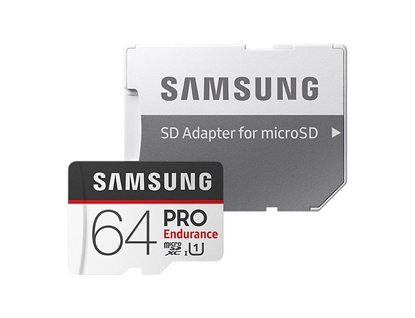 Picture of Samsung 64GB Pro Endurance + Adapter