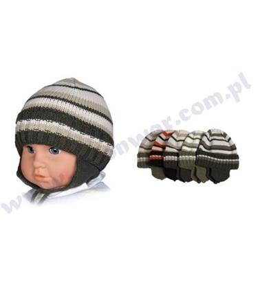 Attēls no 42-44 cm bērnu cepure zēniem P-CZ-106E dažādas krāsas