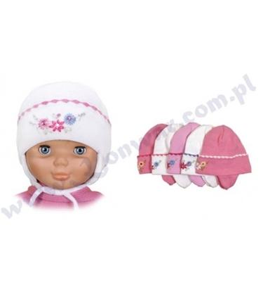 Attēls no 44-48 cm bērnu cepure meitenēm P-CZ-295 dažādas krāsas