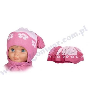 Attēls no 48-52 cm bērnu cepure meitenēm P-CZ-253 dažādas krāsas