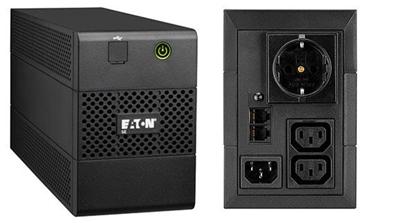 Attēls no Eaton 5E 850VA/480W line-interactive, 1 Schuko (DIN) + 2 IEC C13 (10A), USB