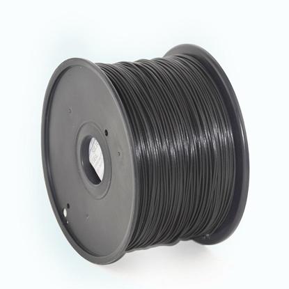 Изображение Filament Gembird PLA Black   1,75mm   1kg