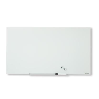 """Attēls no ESSELTE Magnētiska stikla tāfele NOBO DIAMOND 57"""" 126 x 71 cm, balta"""