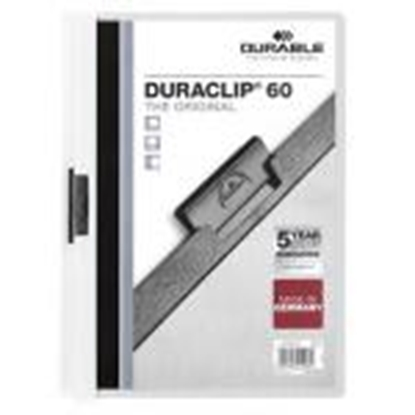 Attēls no *Mape Duraclip Original 60 DURABLE,  balta