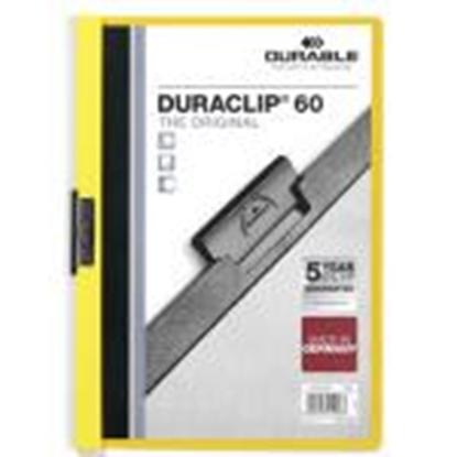 Picture of *Mape Duraclip Original 60 DURABLE,  dzeltena