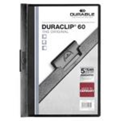 Picture of *Mape Duraclip Original 60 DURABLE,  melna