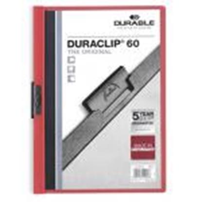 Picture of *Mape Duraclip Original 60 DURABLE,  sarkana
