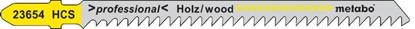 Изображение METABO Figūrzāģa asmens kokam 3,0/91 HCS, 5 gab.,