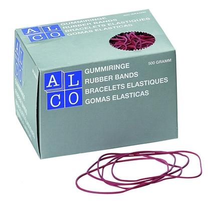 Изображение ALCO Gumijas naudas iesaiņošanai   1.5xD85mm, 500g, sarkana