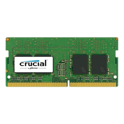 Picture of Crucial 8 GB, DDR4, 2400 MHz, Notebook, Registered No, ECC No