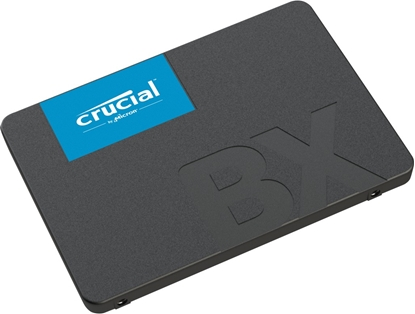 "Picture of Crucial BX500 240 GB, SSD form factor 2.5"", SSD interface SATA, Write speed 500 MB/s, Read speed 540 MB/s"