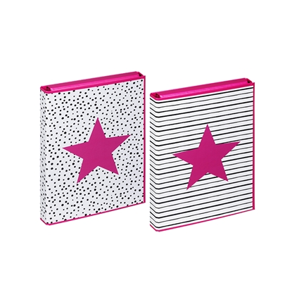 Picture of DURABLE Mape dokumentiem PAGNA Pink Star, A4 formāts