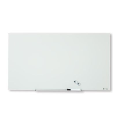 """Attēls no ESSELTE Magnētiska stikla tāfele NOBO DIAMOND 85"""" 188 x 106 cm, balta"""