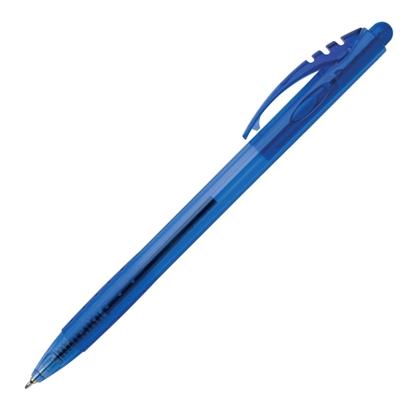Attēls no ICO Lodīšu pildspalva   GEL-X 0.5mm, zila tinte