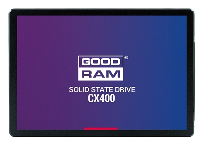 Изображение GOODRAM SSD CX400 256GB 2.5'' SATA3, 550/490 MB/s, IOPS 65/82K