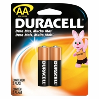 Picture of Baterijas Duracell AA Alkaline 2pack