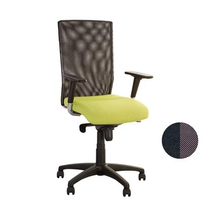 Изображение NOWY STYL Biroja krēsls   EVOLUTION R melns/pelēks ZT24, OH5