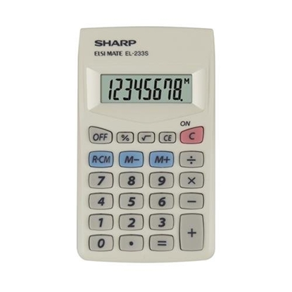 Изображение Sharp SH-EL233S Pocket Mini Calculator
