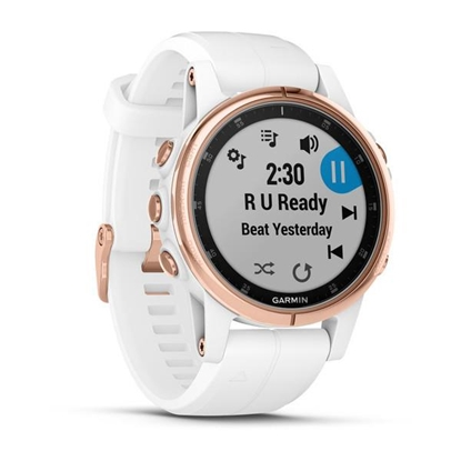 Picture of Garmin fenix 5S Plus Sapphire White/Rose Gold
