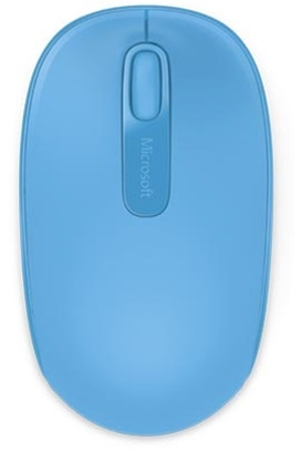 Attēls no  Wireless Mobile Mouse 1850 Cyan Blue - U7Z-00057