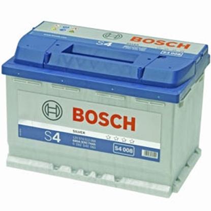 Изображение Akumulators Bosch S4008 74Ah 680A