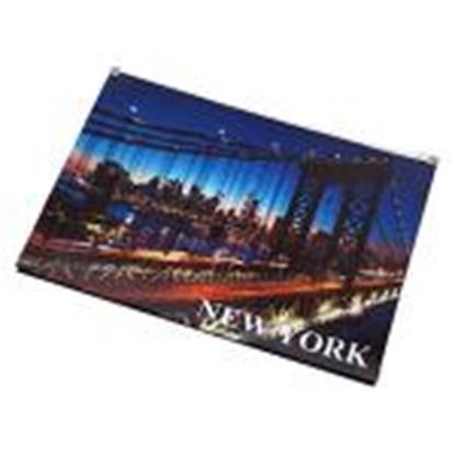 Attēls no Mape slēdzama A4 NEW YORK PantaPlast