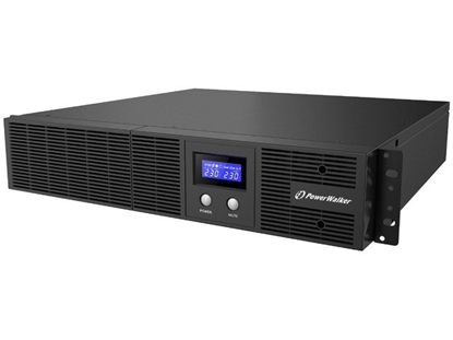 Picture of UPS Line-Interactive 3000VA Rack 19 8x IEC Out, RJ11/RJ45 In/Out, USB, LCD, EPO