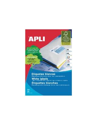 Изображение APLI Uzlīmes   ILC ar izmēru 70x37mm, 25 loksnes/24 uzlīmes loksnē (10818)