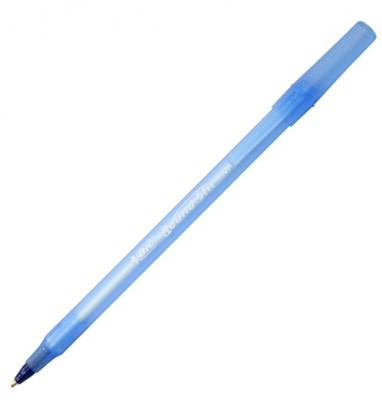 Изображение BIC Ballpoint pens ROUND STIC 1.0 mm, blue, Pouch 1 pcs 256378