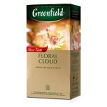 Picture of GREENFIELD Floral Cloud zaļā tēja 25x1.5g
