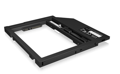 Attēls no IcyBox Adapter for 2.5'' HDD/SSD in Notebook DVD bay