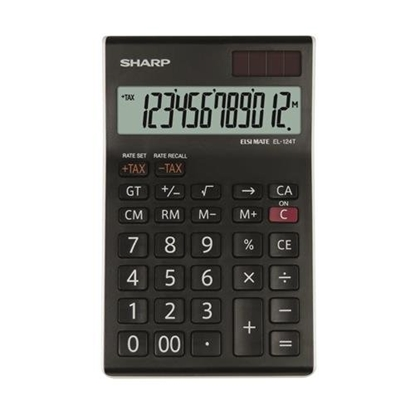 Изображение Sharp SH-EL124TWH Desktop Calculator