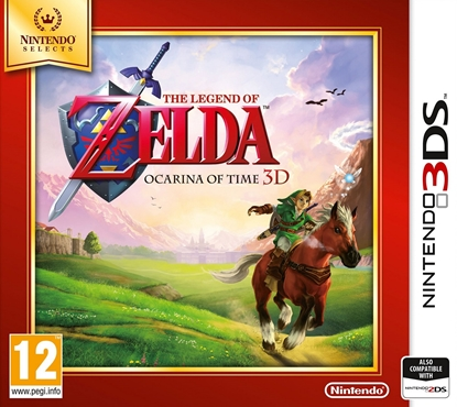 Изображение 3DS Legend Of Zelda: Ocarina Of Time 3D