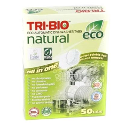 Attēls no Trauku mazg.tabletes Tri-Bio 50gab.