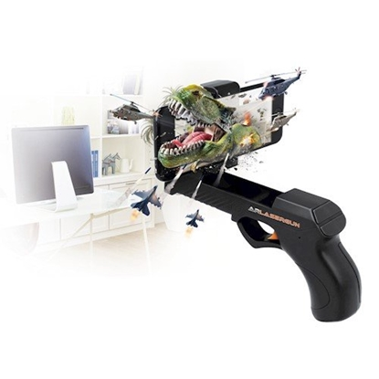 Изображение Forever AR Lasergun GP-110 Remote Augmented Reality Blaster Gun Universal Bluetooth 4.1 GamePad For Mobile Phones + Free Games (Andorid, iOS)