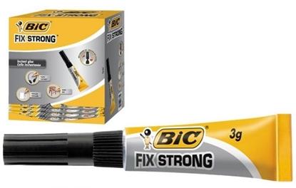 Attēls no BIC GLUE FIX STRONG 3G LQD BL1 GRP2 EU, 12 pcs 9048261